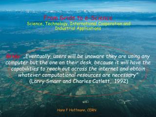 Hans F Hoffmann, CERN