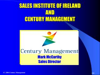 Mark McCarthy Sales Director