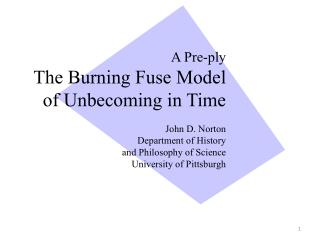 The Burning Fuse