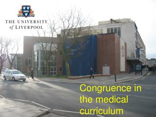 Congruence in the medical curriculum