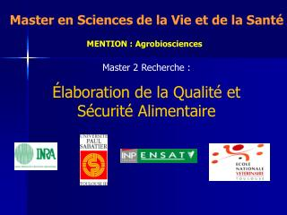 MENTION : Agrobiosciences