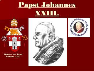 Papst Johannes XXIII.