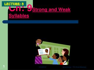 Ch: 9Strong and Weak Syllables