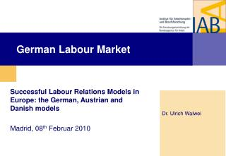 German Labour Market