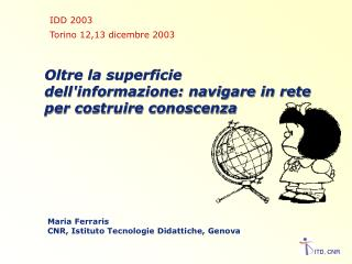 Oltre la superficie dell'informazione: navigare in rete per costruire conoscenza