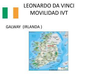 LEONARDO DA VINCI MOVILIDAD IVT