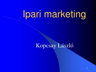 Ipari marketing