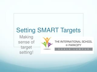 Setting SMART Targets