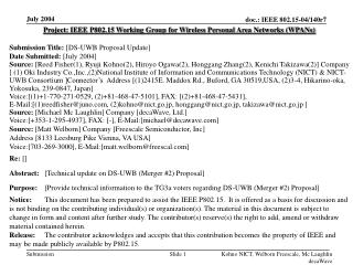 FCC Narrowband Update June 24, 2004