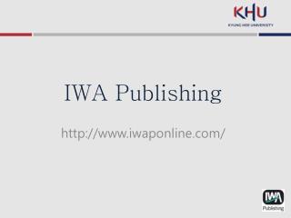 IWA Publishing