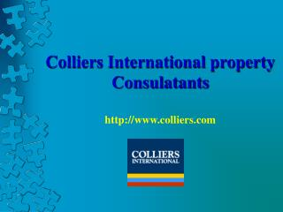Colliers International property Consulatants colliers