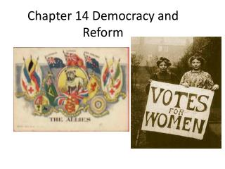 Chapter 14 Democracy and Reform