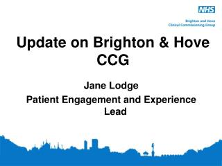 Update on Brighton & Hove CCG