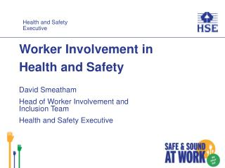Worker Involvement in Health and Safety