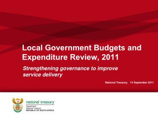 Local Government Budgets and Expenditure Review, 2011