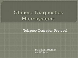 Chinese Diagnostics Microsystems