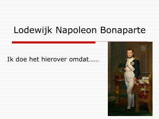 Lodewijk Napoleon Bonaparte
