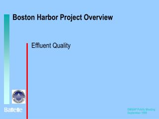 Boston Harbor Project Overview