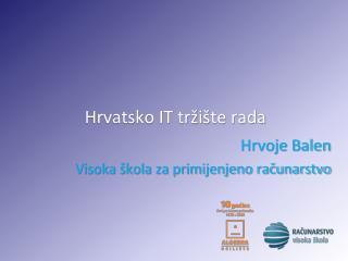 Hrvatsko IT tržište rada