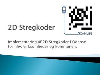 2D Stregkoder