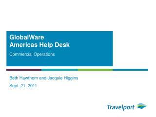 GlobalWare Americas Help Desk