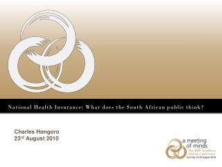 National Health Insurance: What does the South African public think?