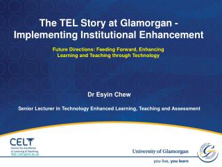 Dr  Esyin  Chew Senior Lecturer in Technology Enhanced Learning, Teaching and Assessment
