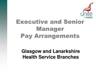Executive and Senior Manager Pay Arrangements