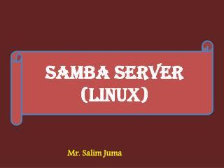 Samba Server (Linux)
