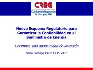 Santo Domingo, Marzo 14-15, 2007