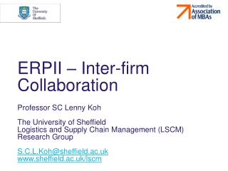 ERPII – Inter-firm Collaboration