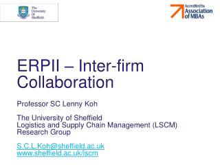 ERPII – Inter-firm Collaboration