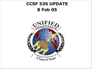 CCSF 536 UPDATE 8 Feb 05
