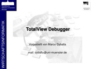 TotalView Debugger