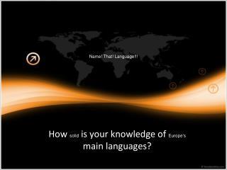 Name! That! Language!!!