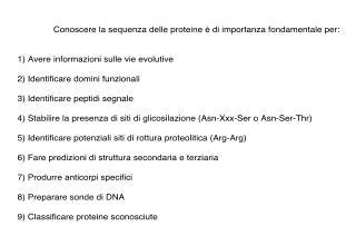 Proteina intatta   1   2   3   4    Ala-Leu-Thr-Pro ... ... ... ... Endoproteinasi Arg-C