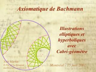 Axiomatique de Bachmann