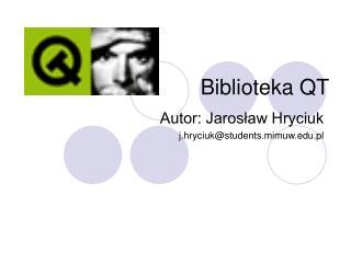 Biblioteka QT