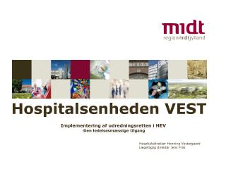 Hospitalsenheden VEST