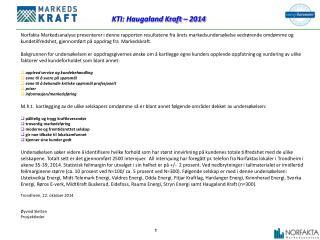 KTI:  Haugaland Kraft  –  2014