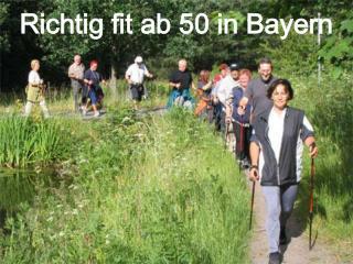 Richtig fit ab 50 in Bayern