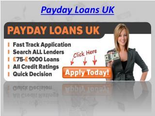 Payday Loans UK