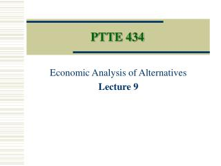 PTTE 434