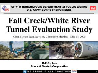 Fall Creek/White River Tunnel Evaluation Study