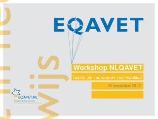 Workshop NLQAVET