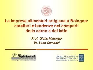 Prof. Giulio Malorgio Dr. Luca Camanzi