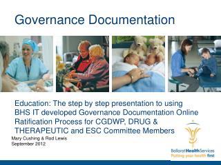 Governance Documentation