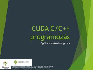 CUDA C/ C ++ programozás