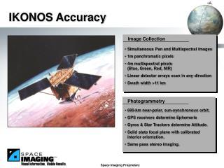 IKONOS Accuracy