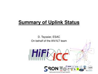 Summary of Uplink Status